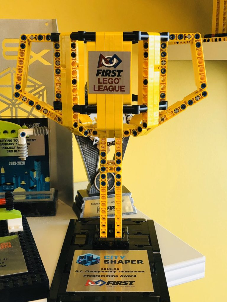2019-2020 BC FLL Championship Tournament Programming Award