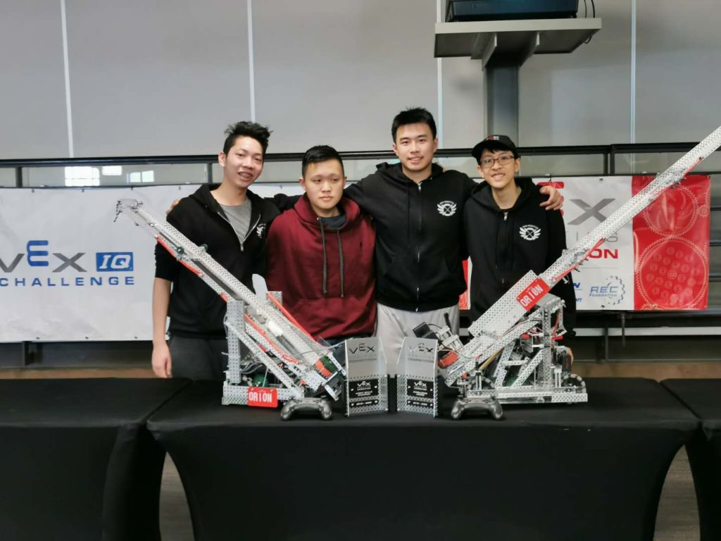 RoboPlanet VEX Team and Coaches