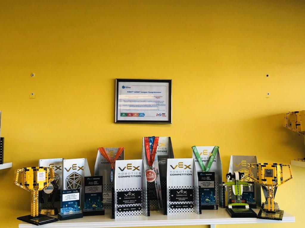 VEX Robotics Competitions Trophies